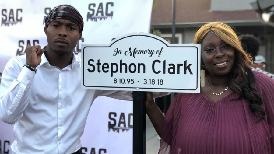 Family of Stephon Clark feels loved as memorial street sign is unveiled