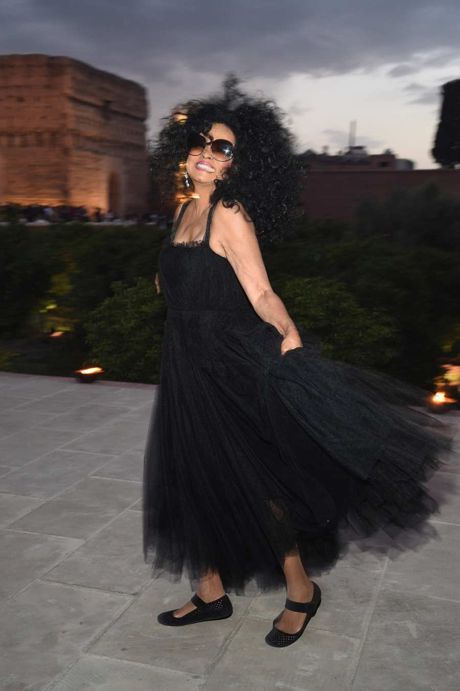 Diana Ross Shuts Down the Star-Studded Dior Show in Marrakech