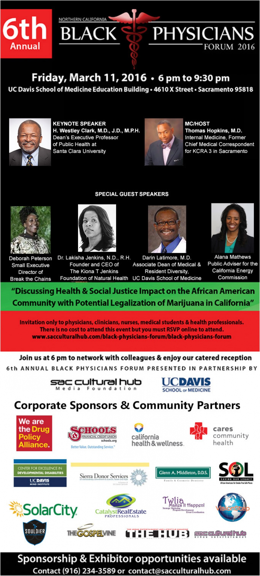 Join us for 6th Annual Black Physicians Forum - Friday, March 11, 2016