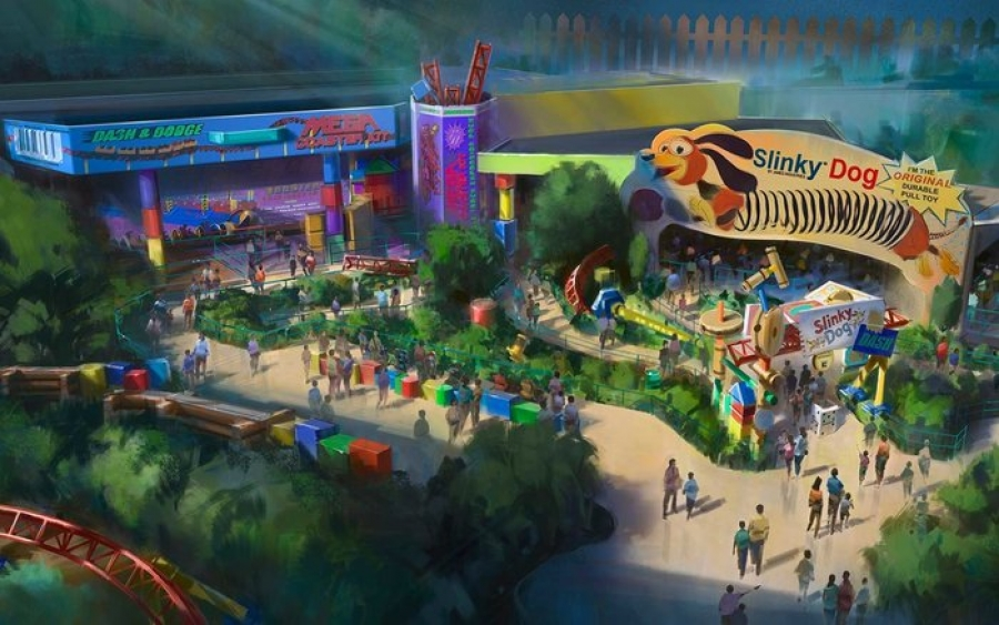 Here's When Disney's New Toy Story Land Officially Opens