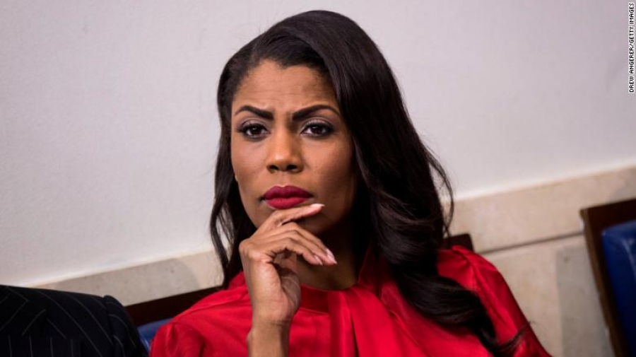 Omarosa's book marks stunning turn-around for a former top aide