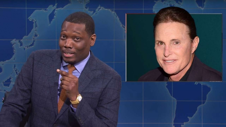'SNL' Star Michael Che Receives Backlash for Caitlyn Jenner Joke During 'Weekend Update'