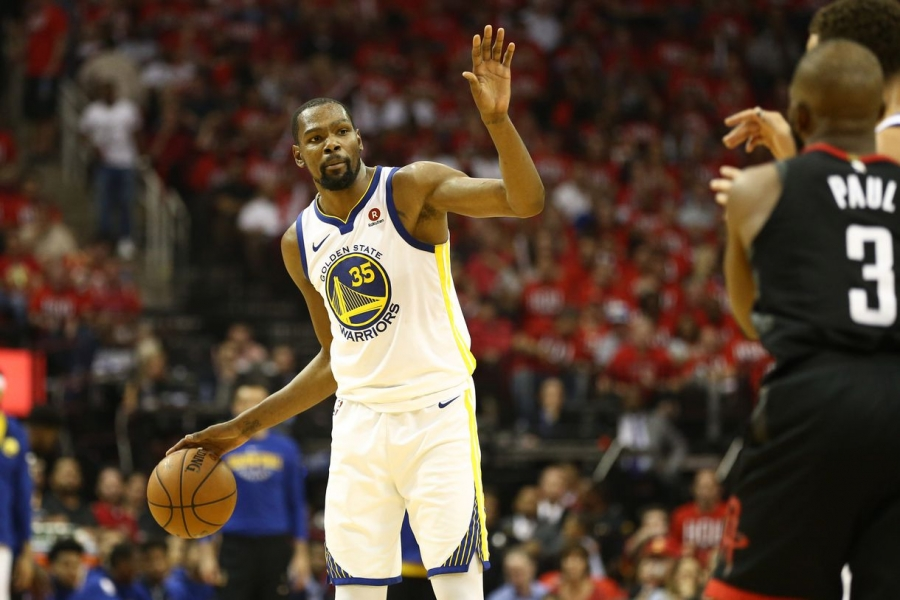 Warriors steal home-court advantage, winning 119-106
