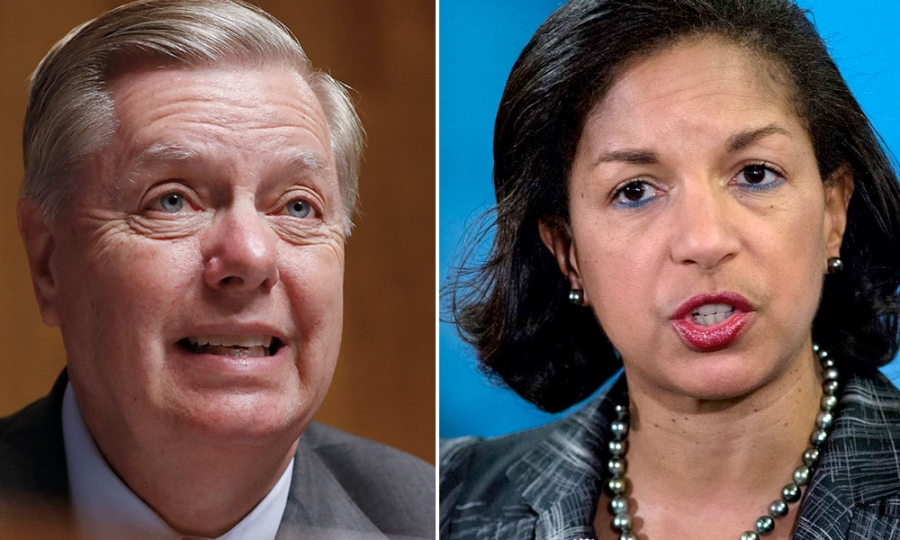Former Obama Adviser Susan Rice Calls Sen. Lindsey Graham a 'Piece of Sh*t'