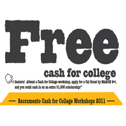 FREE cash for college