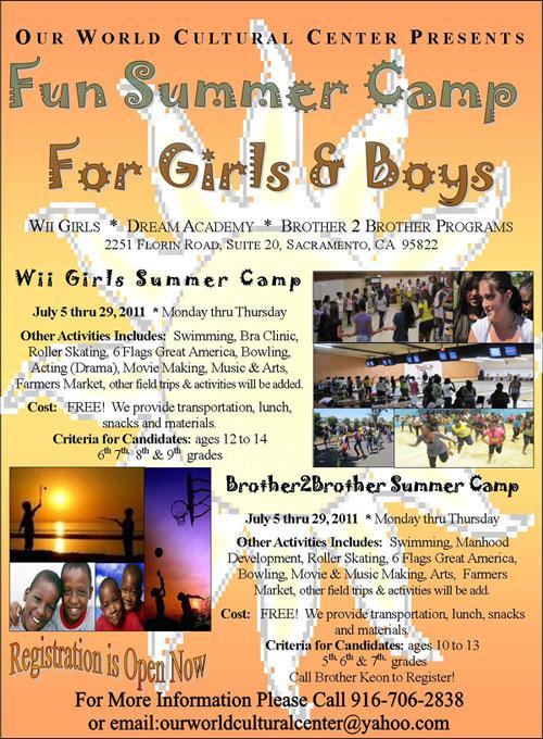 Summer Camp for Girls & Boys