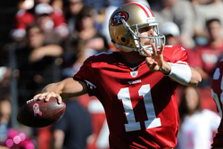 Alex Smith and San Francisco 49ers: Headed for NFC Championship Showdown vs.Packers Aaron Rodgers