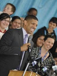 Mayor Kevin Johnson celebrated 1st year accomplishments of Any Given Child