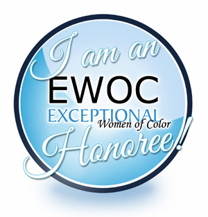 I am Exceptional Women of Color Honoree