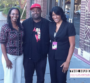 """THE HUB live on the scene – exclusive viewing of BET's  """"2nd Coming?:…"""""""