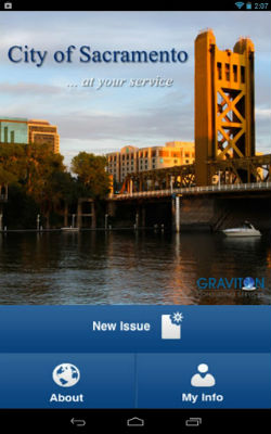 City of Sacramento Launches 311 Android Phone App