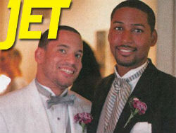 """""""Jet"""" Magazine Features First Gay Couple"""