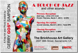 """Brickhouse Art Gallery Presents """"A Touch of Jazz"""""""