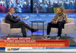 """Chris Brown Visits """"Today"""" to Ask for Forgiveness"""