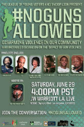 Snoop Lion, BET, LYVEF Join Forces to Stop Gun Violence