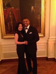 Mayor Johnson at White House State Dinner with French President