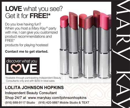Lolita Johnson  Hopkins, Independent Beauty Consultant