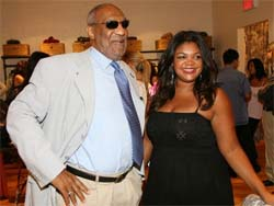 Bill Cosby's daughter stands by him
