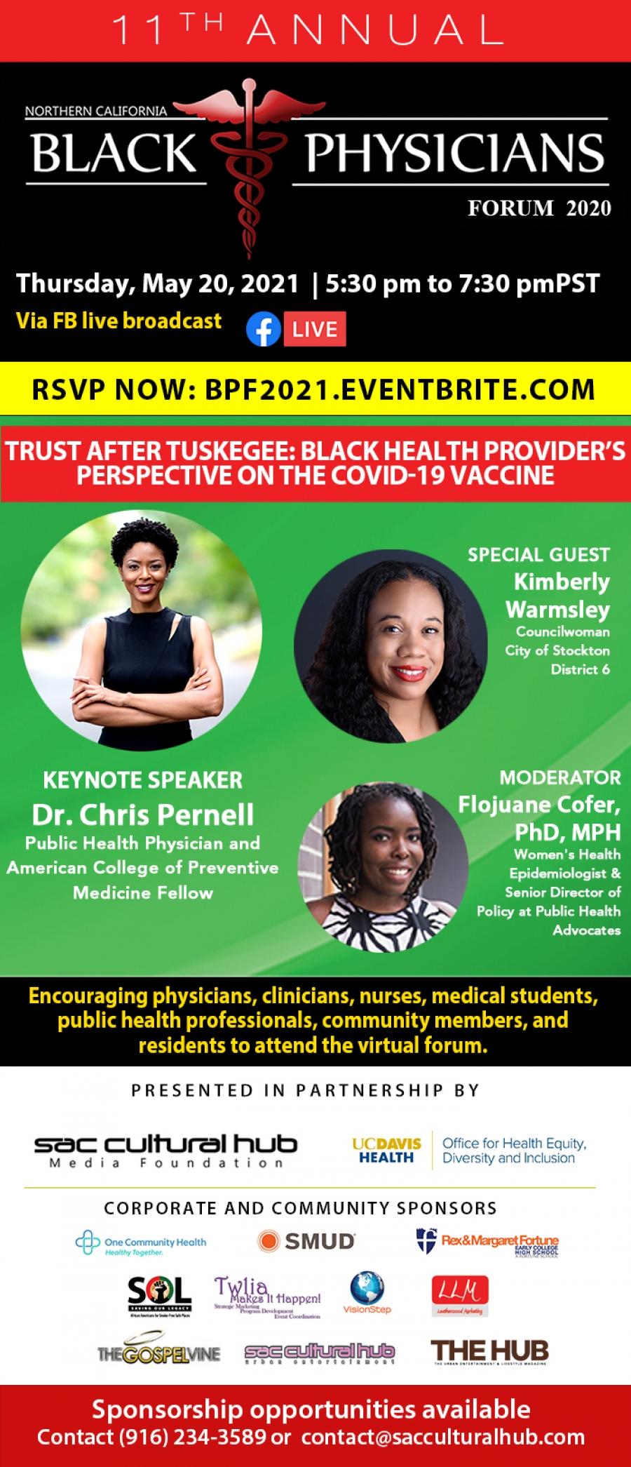 11th Annual Virtual Black Physicians Forum