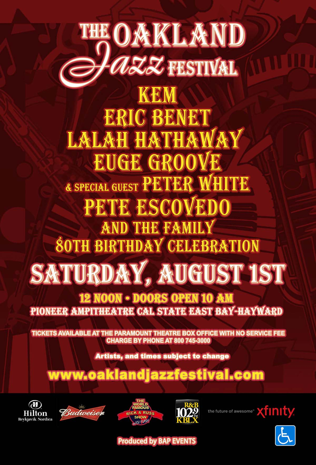 Oakland Jazz Festival