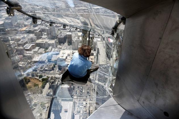 Check out LA's new Skyslide