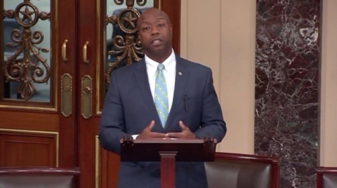 The Senate's only black Republican just got real on race
