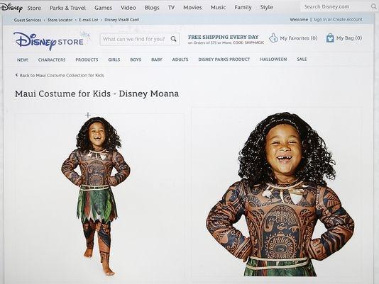 Disney pulls offensive 'Moana' Halloween costume