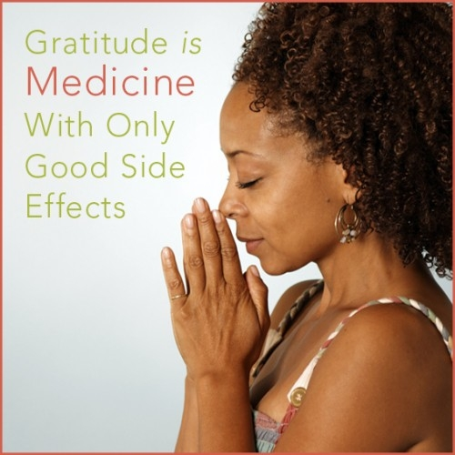 Gratitude is Medicine with No Negative Side Effects
