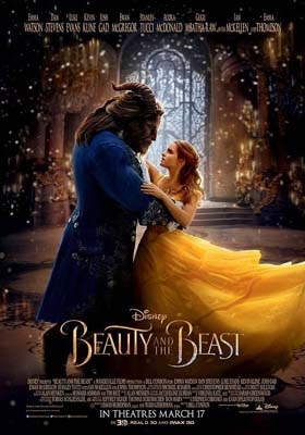 """""""Beauty and the Beast"""" in theaters on March 17th"""