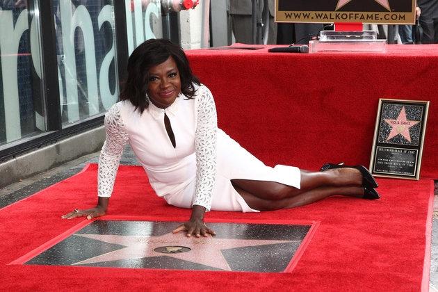 Viola Davis (Finally!) Got A Star On The Hollywood Walk Of Fame