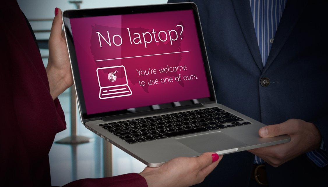 The Trump Administration Banned Laptops, So One Airline Is Passing Them Out