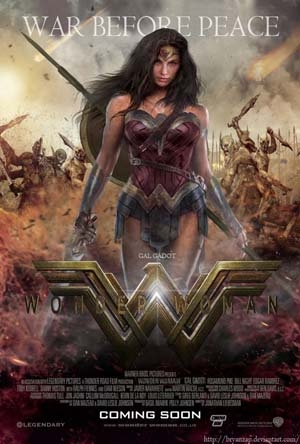 Wonder Woman in Theaters June 2nd
