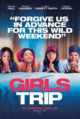 """WIN MOVIE Tickets to see """"Girls Trip"""""""