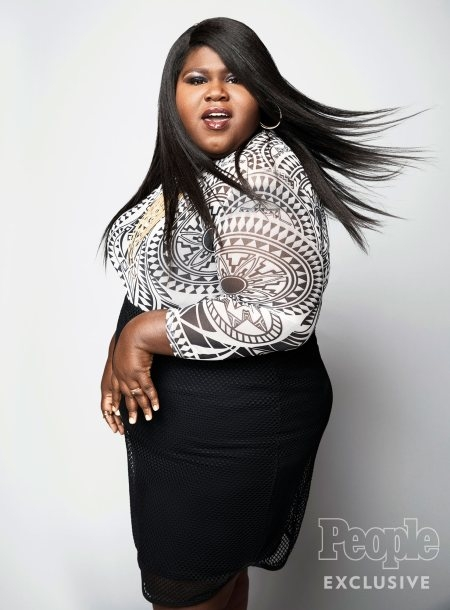 Gabourey Sidibe Doesn't Want Congratulations for Her Weight Loss