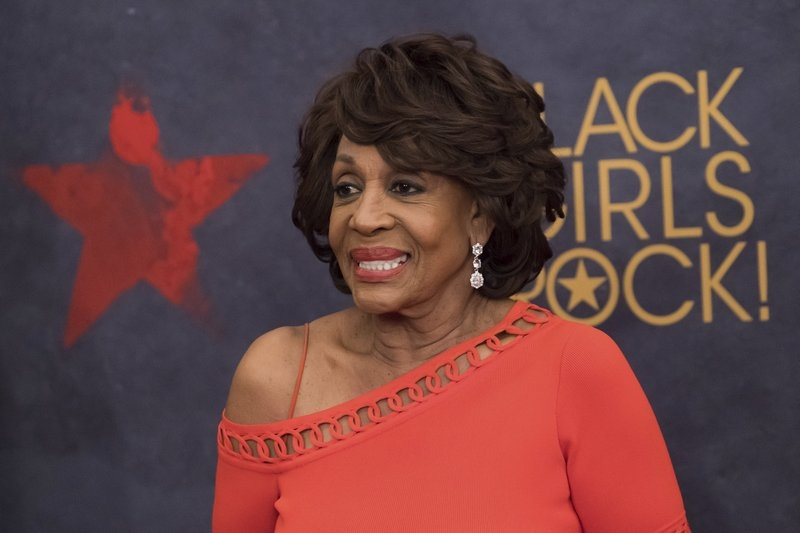 Maxine Waters, the rock star, shines at black women's event