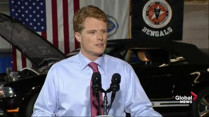 Rep. Joe Kennedy sounded a LOT like Barack Obama