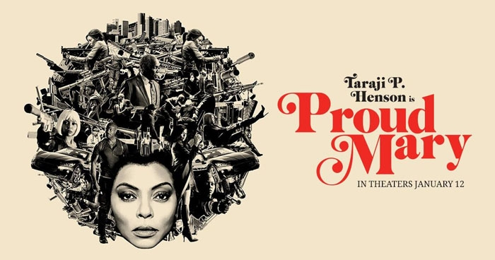 Taraji Keeps On Burnin' In Thrilling Proud Mary:  A Movie Review