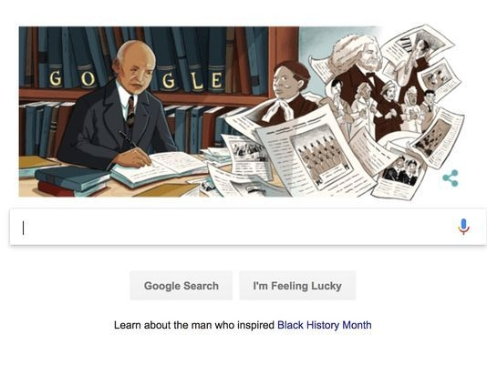 Google honors Carter G. Woodson, the 'father of Black History'