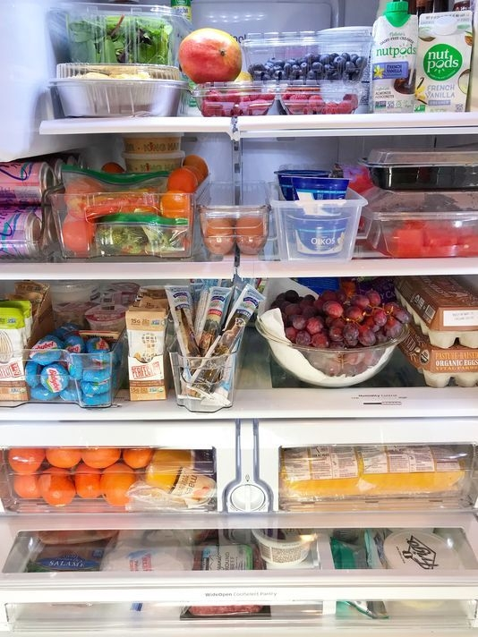 Want to eat healthier? Organize your refrigerator like this