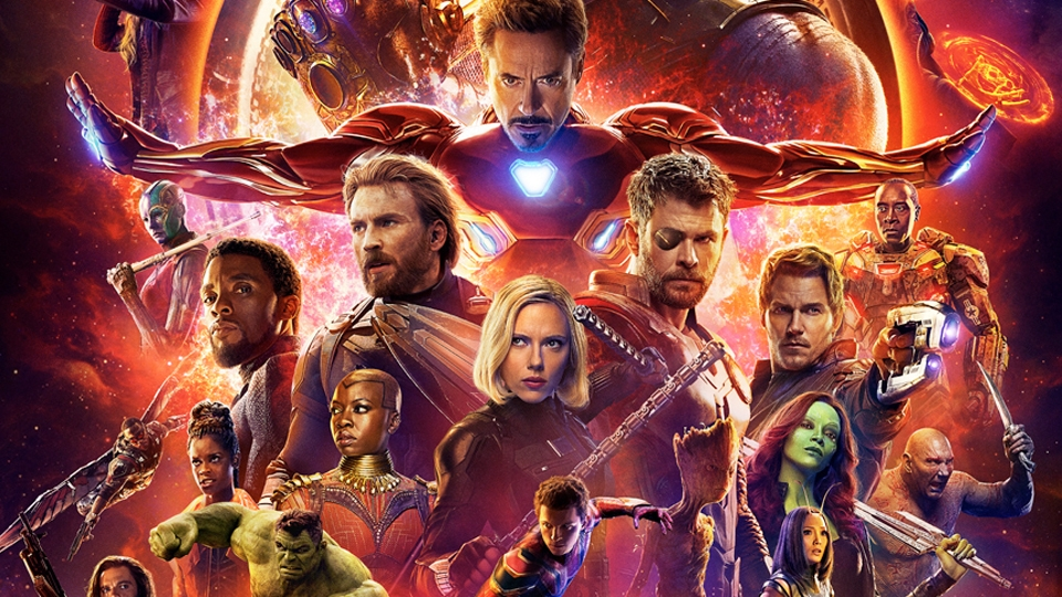Avengers: Infinity War Opening April 27th