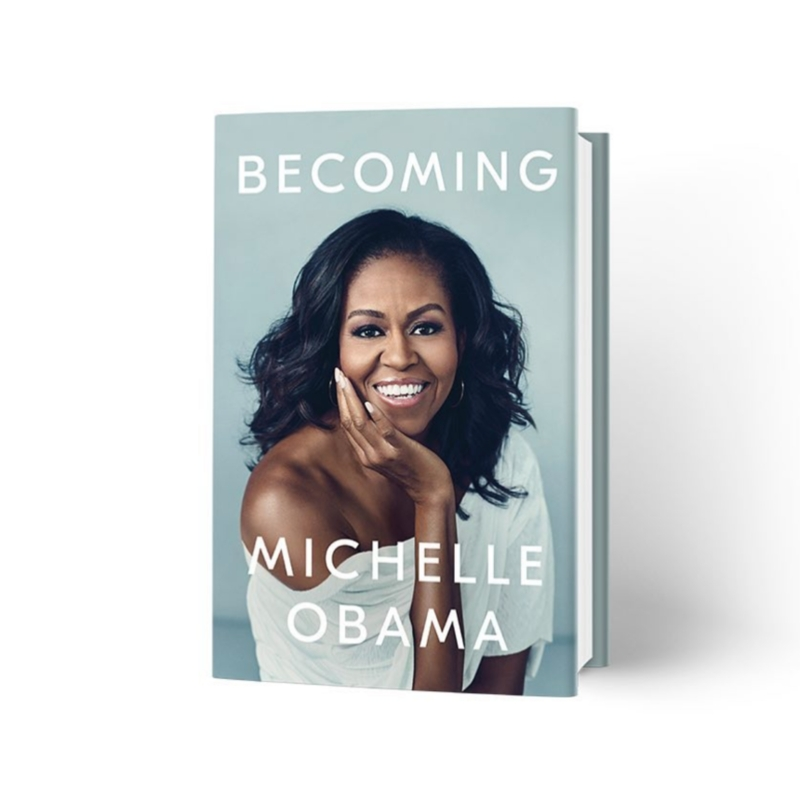 Michelle Obama Shares Cover For New Book 'Becoming'