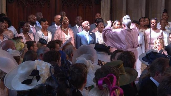 A Gospel Choir Singing 'Stand By Me' At The Royal Wedding Gave Everyone Chills