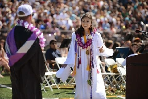 Northern Cali High School Valedictorian's Mic Cut When She Talks About Campus Sexual Assault