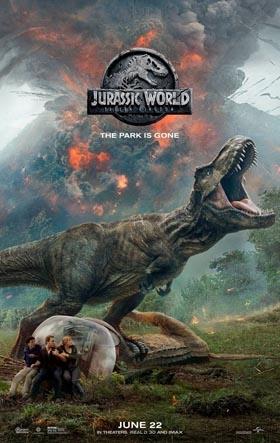 Jurassic World: Fallen Kingdom in Theaters June 22nd