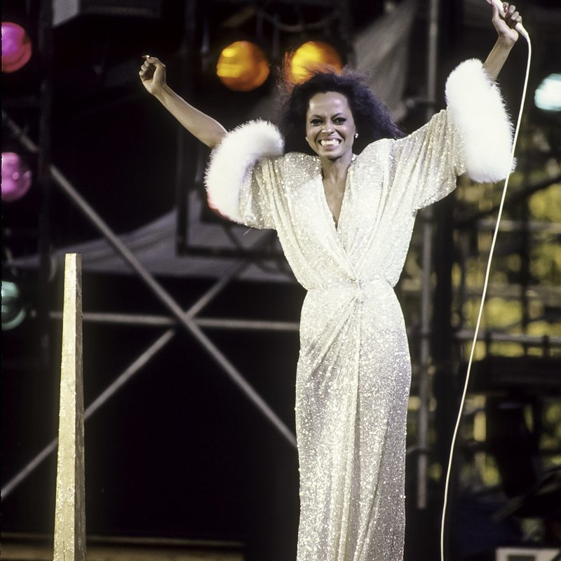 Diana Ross Celebrates 35th Anniversary Of Iconic Central Park Show
