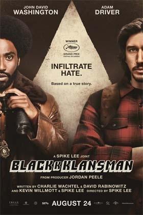 Coming in August – BlacKkKlansman
