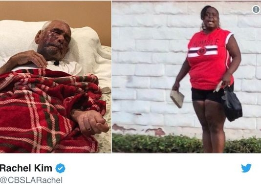 Woman arrested in beating of 91-year-old man reportedly told to 'go back to Mexico'