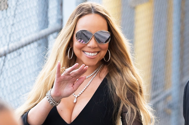 Mariah Carey Is Back in the Recording Studio: See the Pics