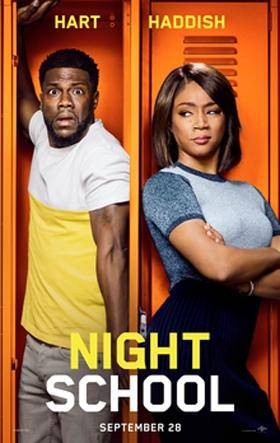 Night School starring Kevin Hart, Opening September 28