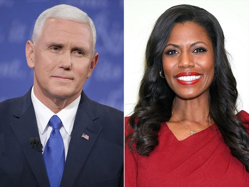 Omarosa Suspects Mike Pence's Office Wrote NYT Op-Ed in an Effort to Make Pence President